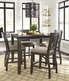 Dresbar Counter Height Dining Value Set (5 pieces)