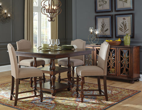 Baxenburg Square Counter Dining Value Set (5 pieces)