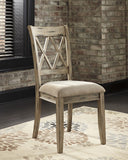 Mestler Dining Upholstered Side Chair (Set of 2)