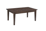 Mestler Rectangular Dining Table - Dark Brown
