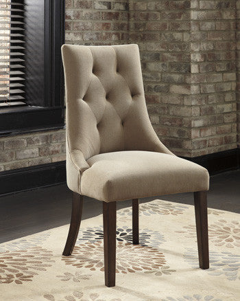 Mestler Dining Upholstered Side Chairs (Set of 2)