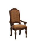 North Shore Paisley Dining Upholstered Arm Chair (Set of 2)