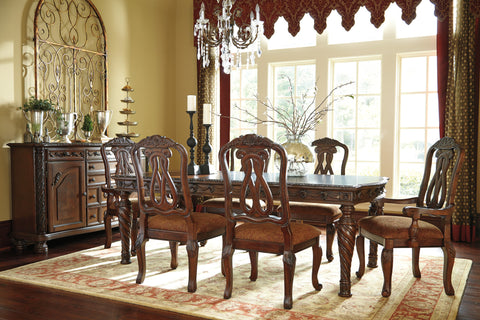 North Shore Rectangular Dining Room Extendable Table
