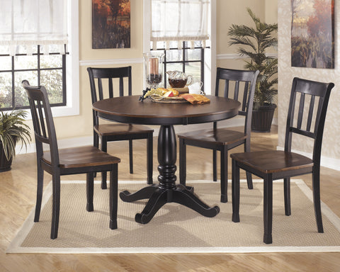 Owingsville Round Dining Value Set (5 pieces)