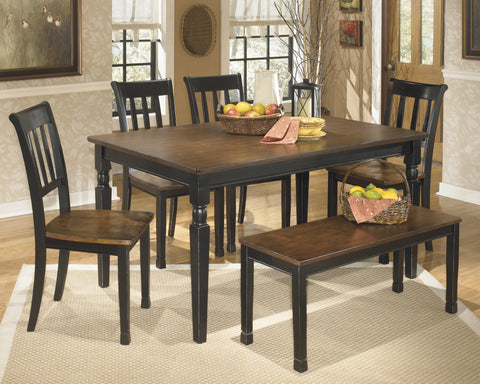 Owingsville Rectangular Dining Value Set (6 pieces)