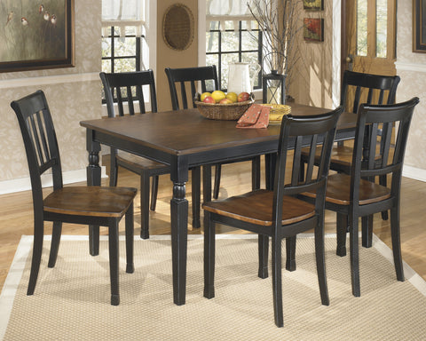 Owingsville Rectangular Dining Value Set (7 pieces)