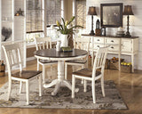 Whitesburg Round Small Dining Room Table