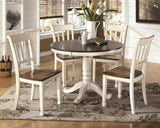 Whitesburg Round Dining Value Set (5 pieces)