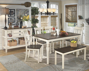 Whitesburg Rectangular Dining Room Table