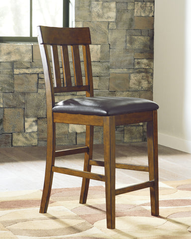 Ralene Upholstered Counter Height Stools (Set of 2)