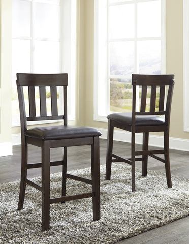Haddigan Upholstered Counter Height Stools (Set of 2)