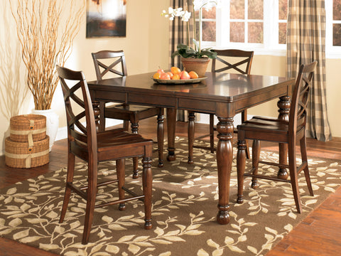 Porter Counter Height Dining Value Set (5 pieces)