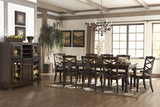 Porter Rectangular Large Dining Room Extendable Table