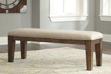 Flynnter Large Upholstered Dining Room Bench