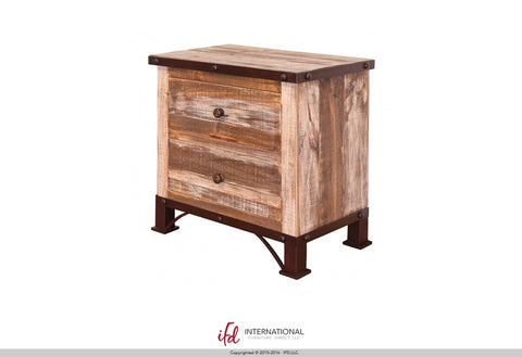 966 Two Drawer Night Stand