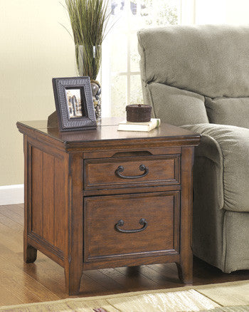 Woodboro Media End Table