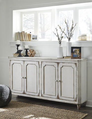Mirimyn Four-door Accent Cabinet - White