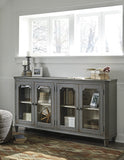 Mirimyn Four-door Accent Cabinet - Grey