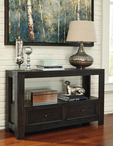 Gavelston Two-drawer Sofa Table