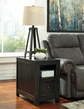 Gavelston Chair Side Media End Table