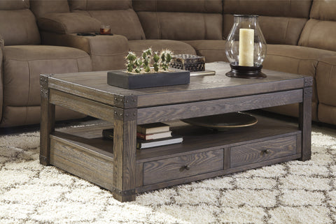Burladen Lift Top Coffee Table