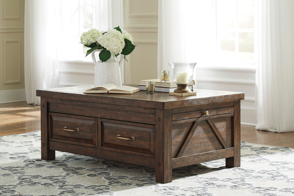 Windville Coffee Table with Storage