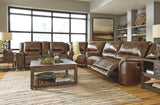 Jayron Reclining Sectional with Storage - Harness