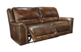 Jayron 2 Seat Reclining Sofa - Harness