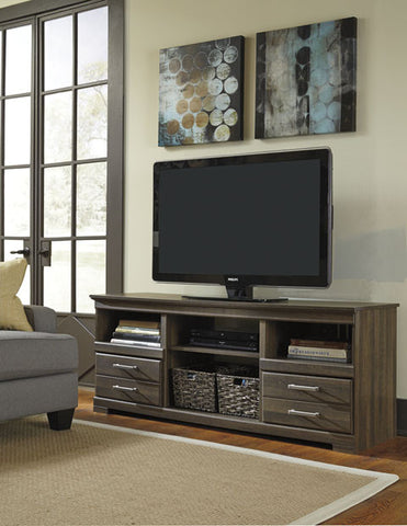 Frantin TV Console with Fireplace Option