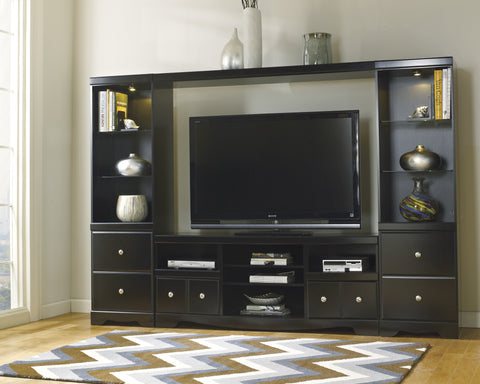 Shay Media Entertainment Center w/Fireplace Option