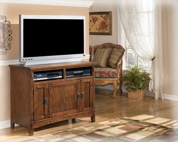 Cross Island TV Stand