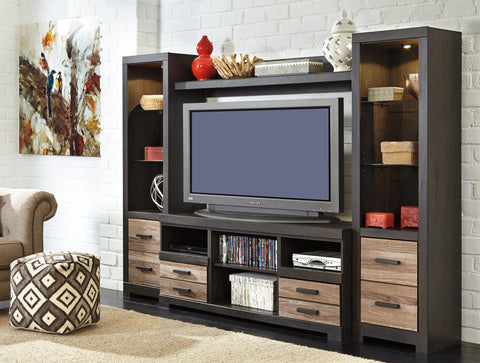 Harlinton Media Entertainment Center w/Fireplace Option