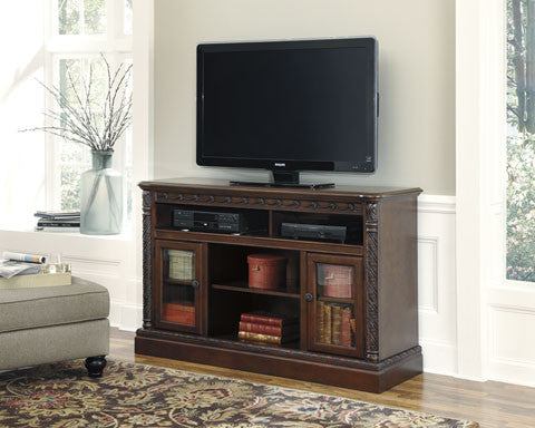 North Shore Large TV Stand w/Fireplace Option