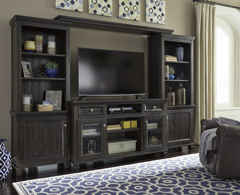 Townser Media Entertainment Center w/Fireplace Option