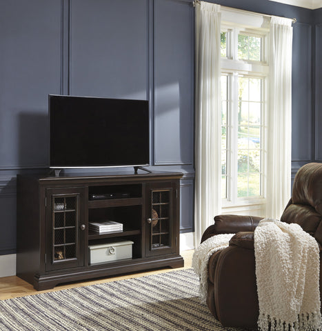 Willenburg Large TV Stand w/Fireplace Option