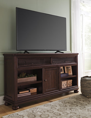 Gerlane Extra Large TV Stand w/Fireplace Option
