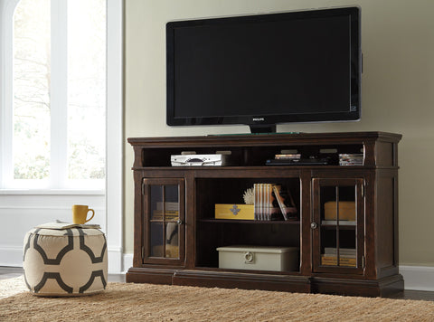 Roddinton Extra Large TV Stand w/Fireplace Option