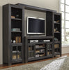 Gavelston Media Entertainment Center w/Fireplace Option