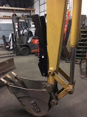 Case 580 Backhoe Thumb