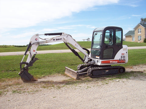 Bobcat 331 - Provided by MiniExcavatorThumbs.com