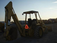 Caterpillar 416 Loader Backhoe Thumb Attachment , Review and