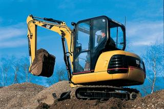 Caterpillar 303.5 Excavator with Thumb