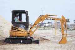 Case CX 31 mini excavator thumb