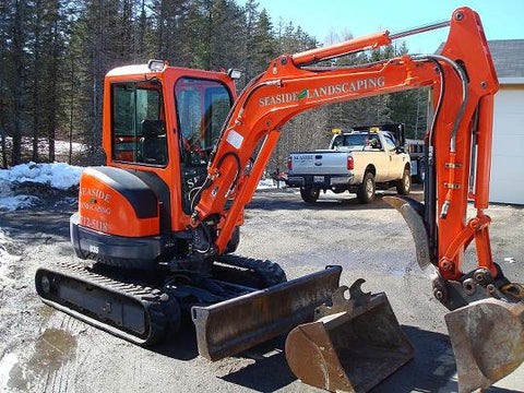 Kubota U35 Excavator with thumb