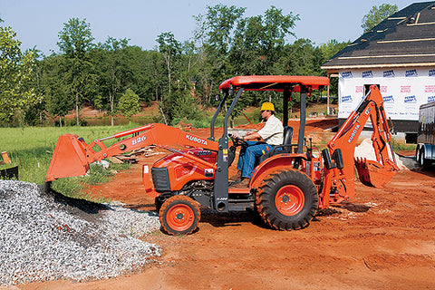 Kubota B26 Loader Backhoe Features And Specifications