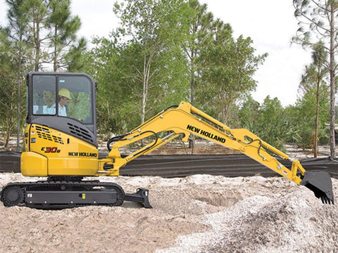 New Holland E 30 Mini Excavator Specs
