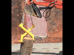 Rock Clamp | Rock Claw | Manual Clamp | Grapple Attachment | Tree Clamp