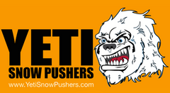 YETI SKID-STEER AND BACKHOE SNOW PUSHERS