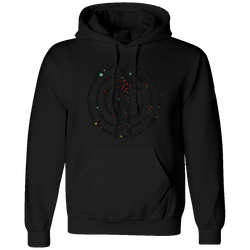 Satellite Flight Black Hoodie