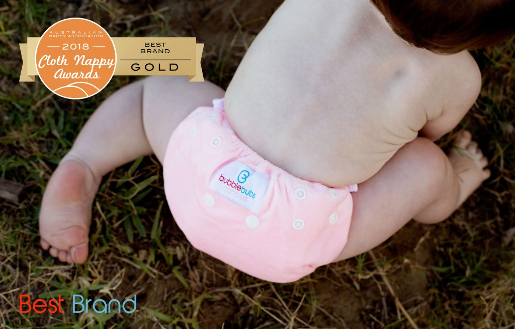 Best australian cloth nappy brand Bubblebubs
